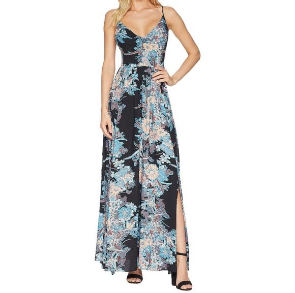 6df3f697c96b Free People Through The Vine Printed Maxi Dress NWT